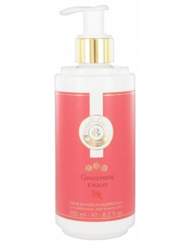 Roger & Gallet Gingembre Exquis Crème de Parfum Nourrissante 250 ml