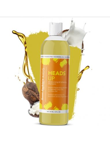 AUNT JACKIE'S  Shampooing hydratant (Heads up) 355ml