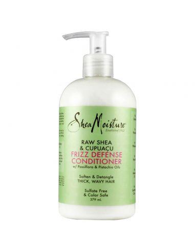SHEA MOISTURE Après-shampooing anti-frisottis au karité brut et cupuaçu Shea Moisture 384 ml
