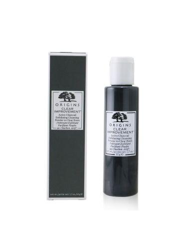 ORIGINS CLEAR IMPROVEMENT™ Nettoyant-Exfoliant Purifiant Poudre Au Charbon Actif