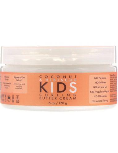 SHEA MOISTURE Crème boucles pour enfants Noix de coco & Hibiscus