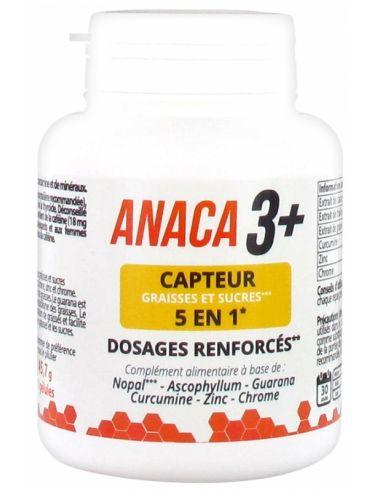Anaca3 + Capteur Graisses et Sucres 5en1 120 Gélules